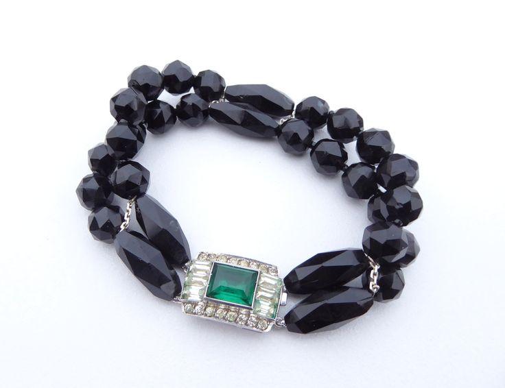 Art+Deco+Double+Strand+Bracelet, £135.00