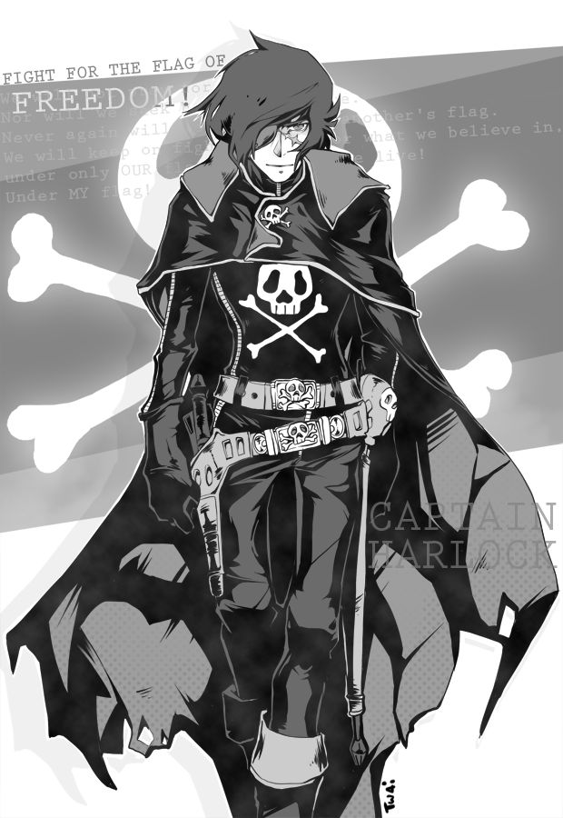 Captain Harlock by Twai