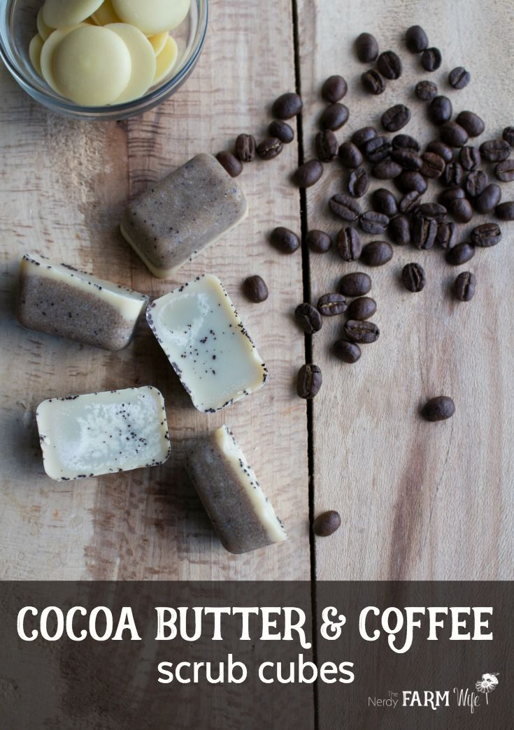Cocoa Butter & Coffee Scrub Cubes