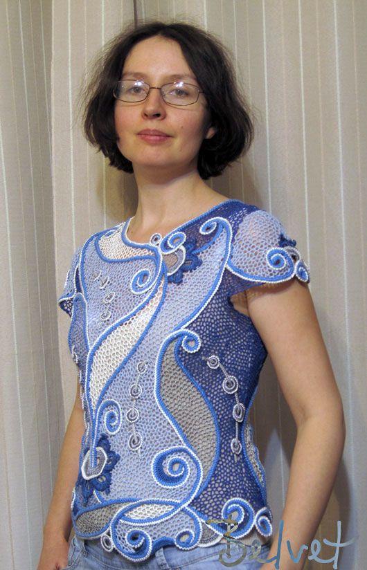 Design  crochet lace by Victoria Belvet