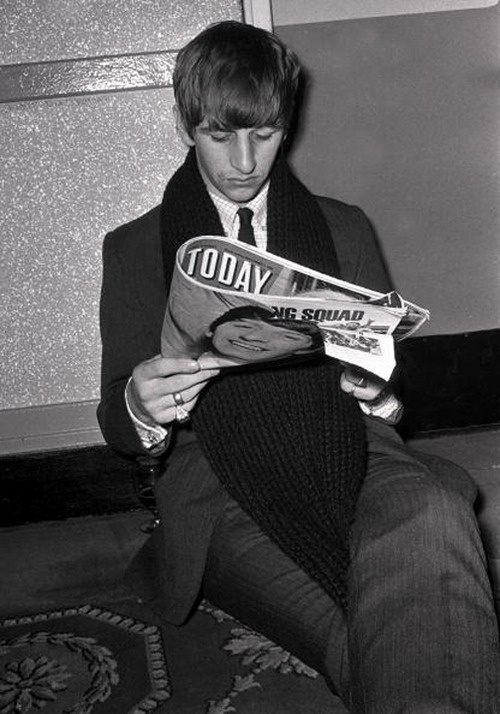 i read the news today.... Ringo starr, The beatles
