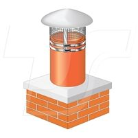 Smart Cap is suitable for most conventional clay chimney pots with an 8 inch (200mm) internal and 9 inch (230mm) external diameter. It is designed to prevent bird entry and to reduce rain ingress. Smart Cap is available in 4 finishes: Stainless Steel, Cream, Black and Terracotta. #smartcap, #chimneycowl, #chimneycap, #raincowl, #chimneycover