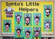 christmas bulletin board ideas for preschool