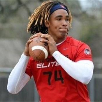 QB Jalen Hurts from Channelview (Texas) has committed to the University of Alabama! RollTide
