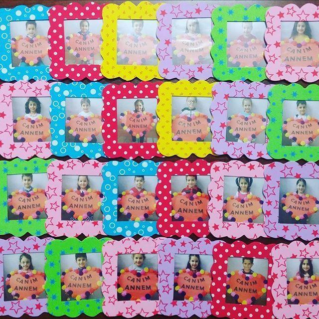 Annelerimize hediyelerimiz #okuloncesietkinlik#okulöncesi#preschoolteacher#preschool#annelergünü#mothersday#present#magnet#cerceve#preschool#preschoolkids#kidsart#kidsactivities#kindergarten#hediye#hatira