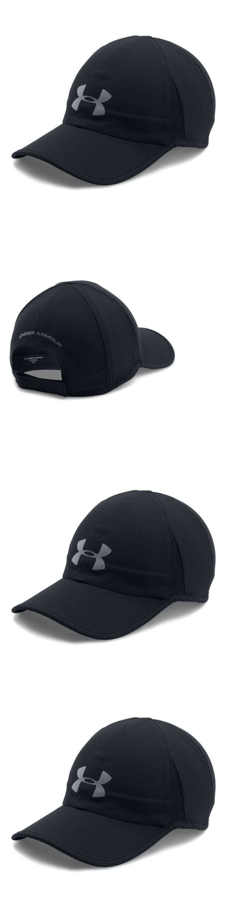 Hats and Headwear 158918: Under Armour Men S Shadow 4.0 Run Cap, Black Black, One Size -> BUY IT NOW ONLY: $31.66 on eBay!
