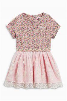 Kvietkované šaty (3 mes. – 6 rok.)
