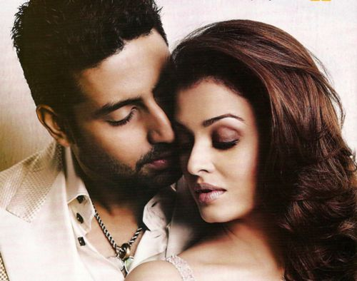 """kajrare: """"The house is full of flowers, the phone hasn't stopped ringing. It's just the happiest feeling,"""" he says, and adds, """"The baby's due in November. I wish for a healthy baby, hopefully a daughter who looks just like Ash.""""—Abhishek Bachchan This man has a personal vendetta against my ovaries, I swear."""
