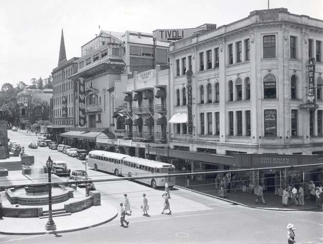 Albert Street, 1953