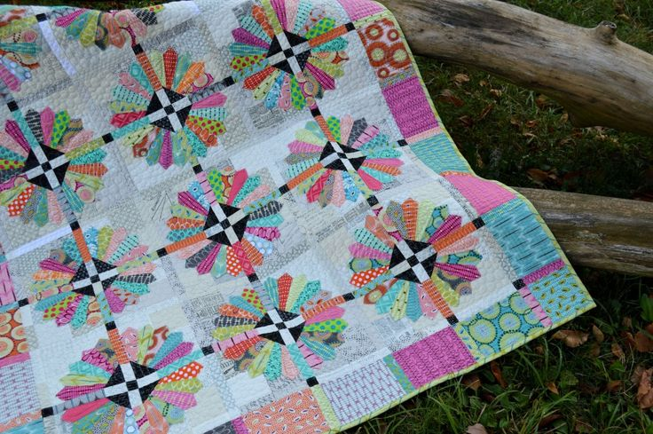 Sunday Best Quilt Pattern With Dresden Plate Quilt Block