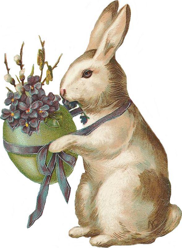 760 best images about DIY Vintage Easter on Pinterest Easter Clip Art Free Retro