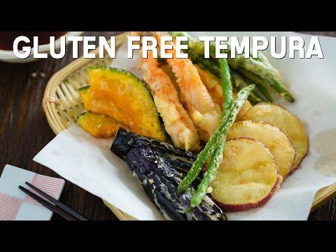Gluten Free Tempura グルテンフリーの天ぷら • Just One Cookbook