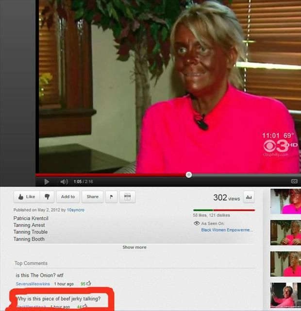 25 top funny youtube comments.