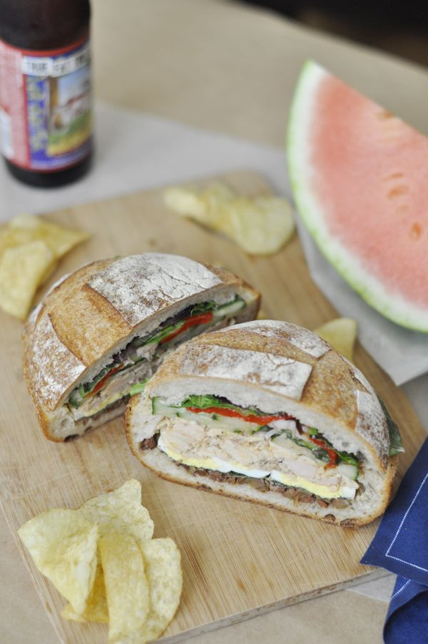 Tuna Nicoise Sandwich | Foodies/Good Eats | Pinterest