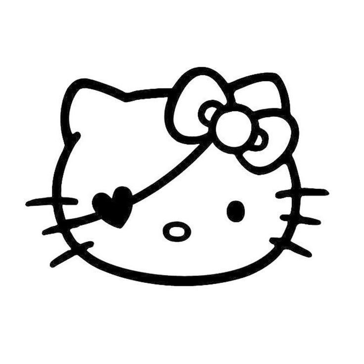 Hello Kitty Pirate Coloring Pages : Best hello kitty quot colorear images on pinterest