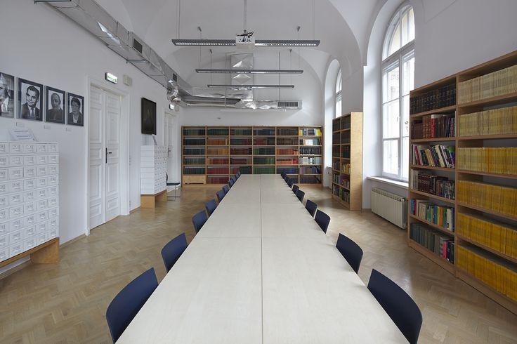 Czytelnia - #Biblioteka, Państwowe #Muzeum Etnograficzne w Warszawie.// #Library, State Ethnographic Museum in Warsaw fot. M. Przeździk #books