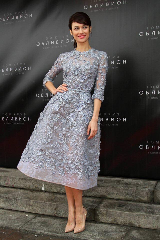 Olga Kurylenko at the Oblivion Moscow 2013 Premiere