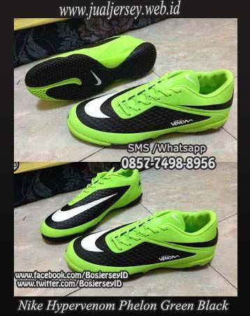 Nike Hypervenom Phelon IC Futsal Green Black 2013-2014 Terbaru dan Termurah !!!
