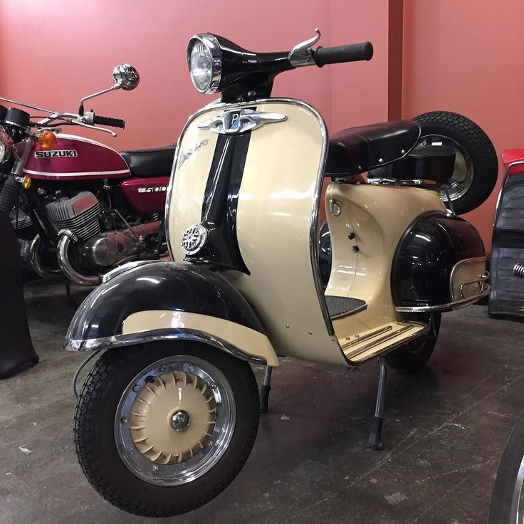 Every day we are fortunate to welcome many 2 wheeled guests into our shop. Every once and a while one of these bikes grabs a little more attention of our crew than normal. This 1963 Vespa 150 is one of those kind of guests. This beauty hasn't been ridden in a few years so it was brought to us to get her back up and running to be enjoyed to the fullest again! #beautiful #vintage #vespa #150 #trust #motovida #lifeontwowheels #handcrafted #motorcycle #lifestyle #kelowna #vernon #penticton…
