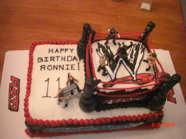 Birthday Cake For An 11 Year Old Boy Everything Is Edible Except The Figures Ropes Are Licerice And Poles Cherry