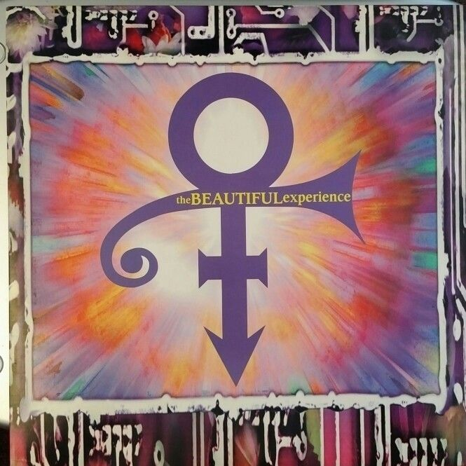"""PRINCE - Album Cover """"The Beautiful Experience"""""""