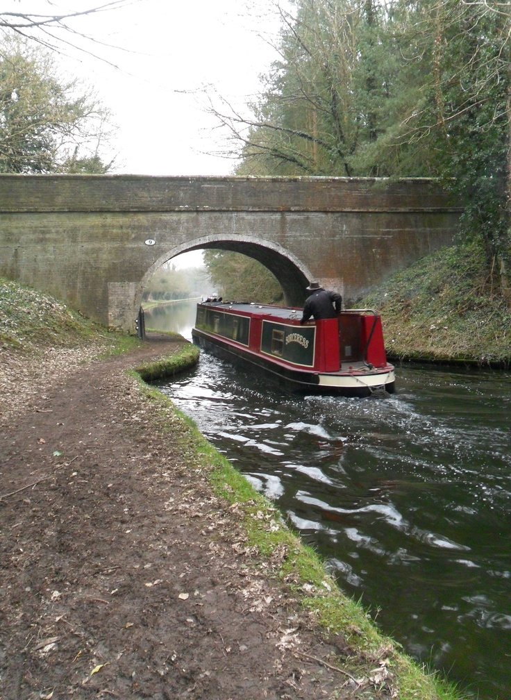 Canal Boat - England we watch Inspector Lewis & see the canal boats on the show all the time! -JB