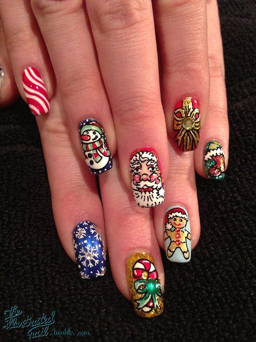 MERRY CHRISTMAS  #nail #nails #nailart