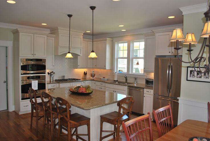 10 best images about dining island on pinterest - Kitchen island with seating for 4 ...