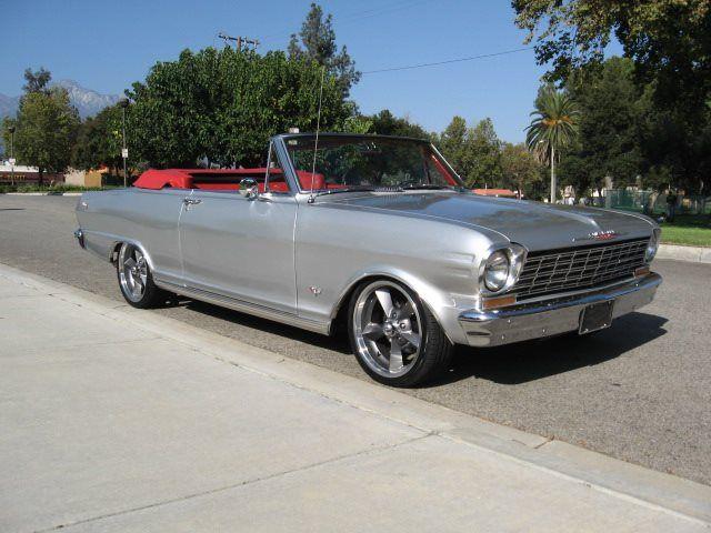 1962 Chevrolet Nova Convertible 39 900 Chevrolet Nova Classic