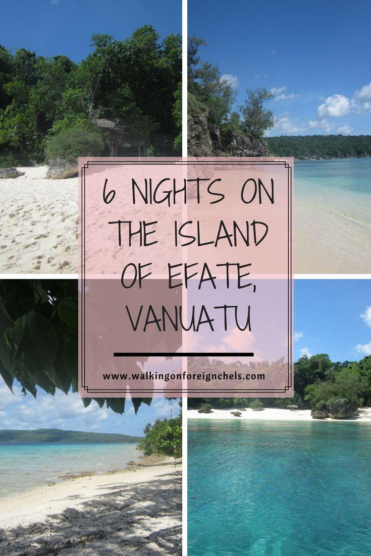 6 Nights On The Island Of Efate Vanuatu Oceania Travel Island Travel Caribbean Travel