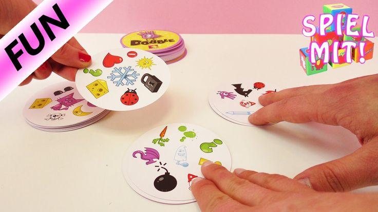 Dobble Spiel deutsch - Halli Galli Alternative für Gehirntraining mit Ka...