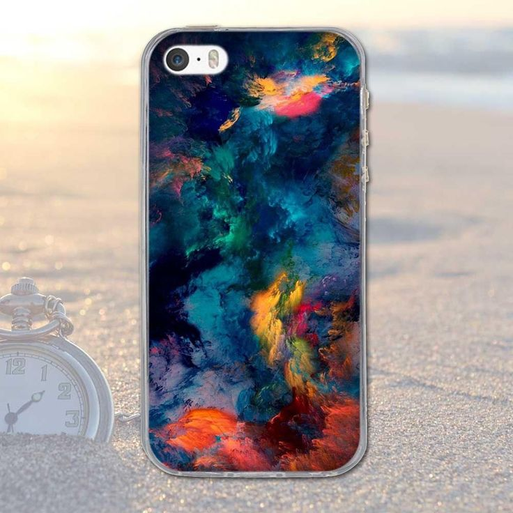 Details about Cute Pattern Soft Silicone TPU Clear Hard Back Case Cover For iPhone 5 6 6s Plus