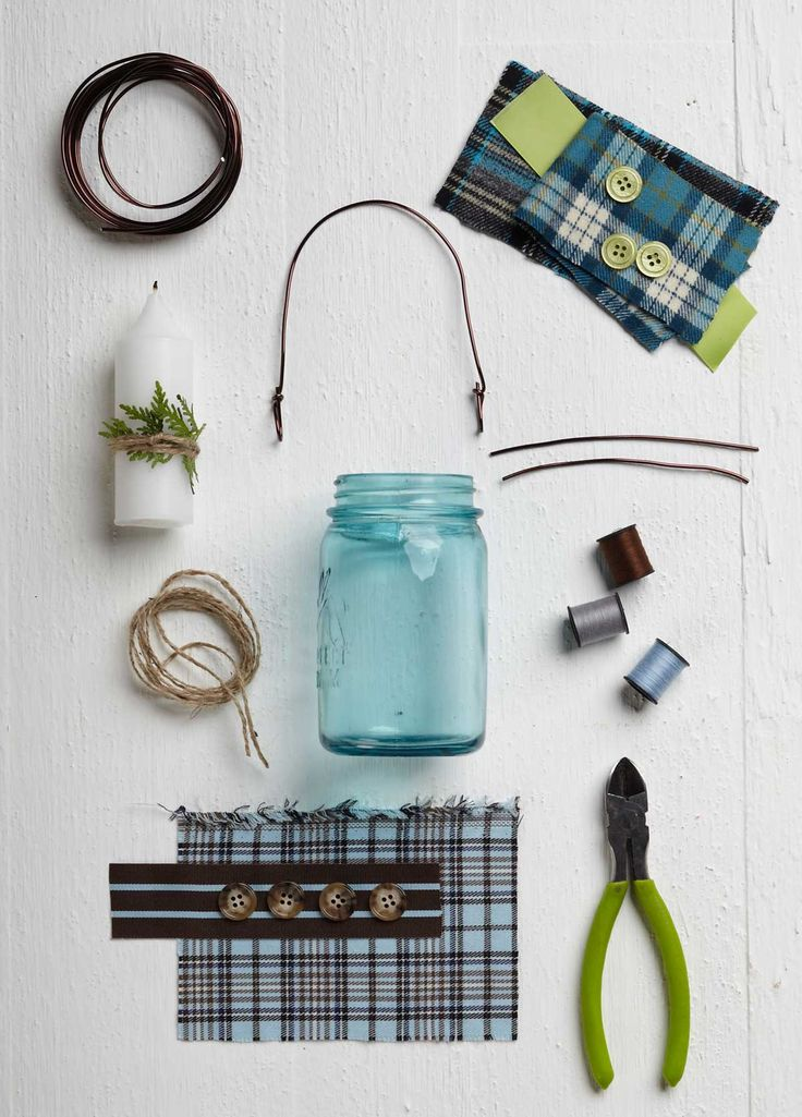 Everything you need to make your own festive DIY Mason Jar Lanterns