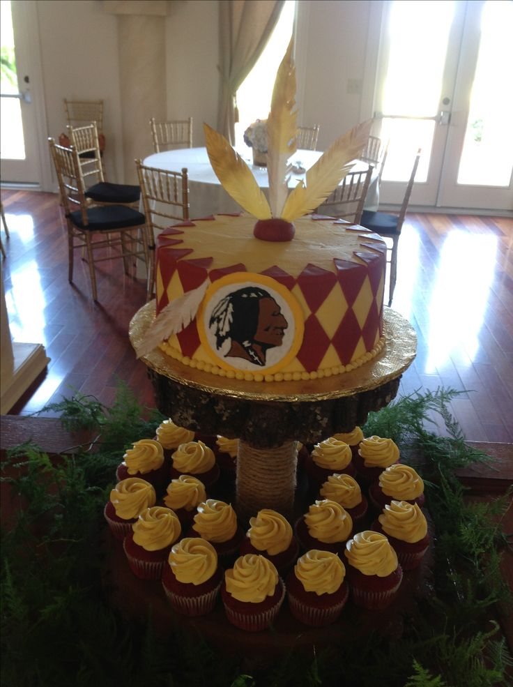 41 Best Images About Washington Redskins Cakes Amp Parties