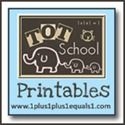 Tot School Printables - Awesome blog!