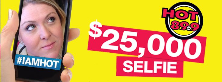 Jenni knows what she's doing! Take a selfie & use the hashtags #IAMHOT #25KSELFIE & YOU could win $25,000!