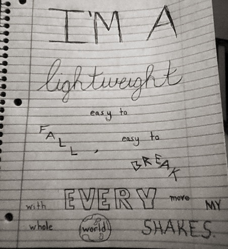 Just doodling some AMAZING Demi Lovato lyrics :)