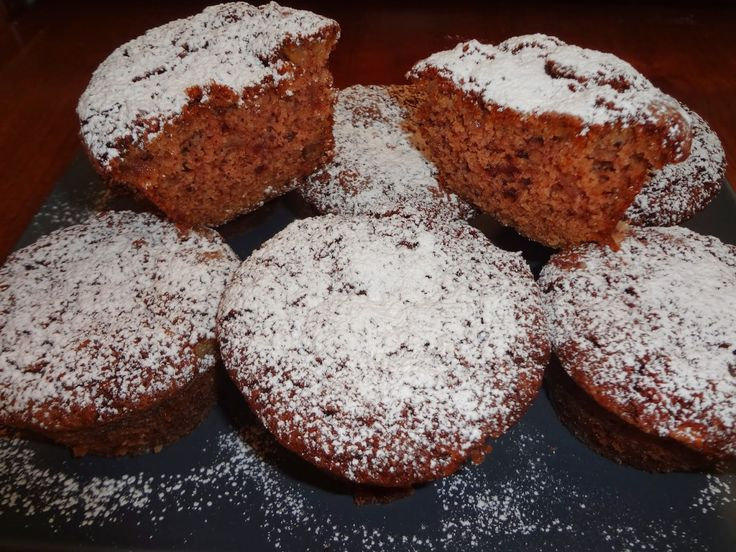 Muffins αχλαδιού | Olga'scuisine.gr