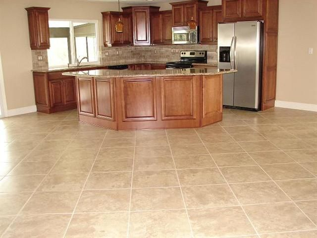 17 best ideas about tile floor designs on pinterest tile for Affordable kitchen flooring ideas