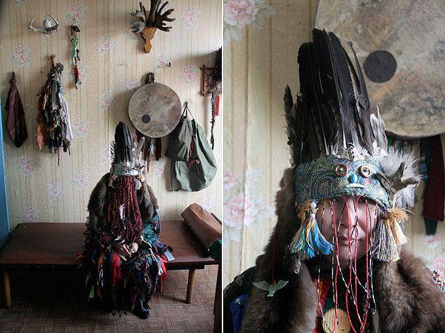 Tuva shaman