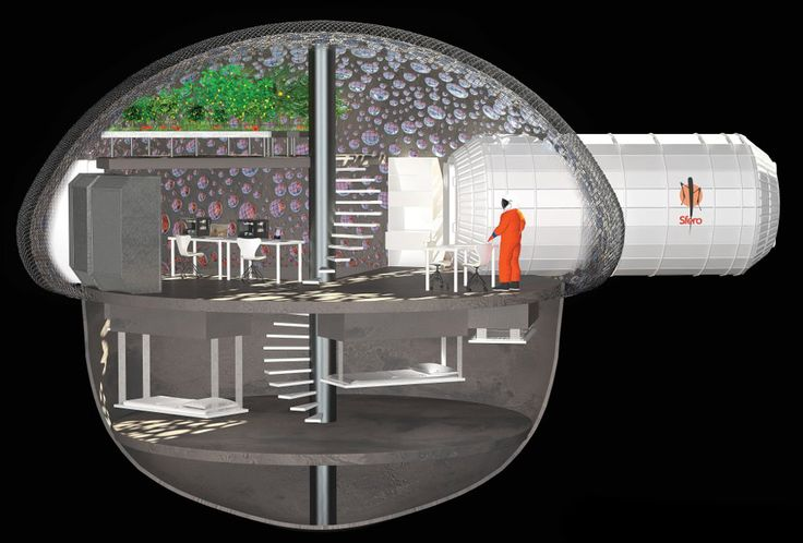 3D-Printed Bubble House Proposed For Living On Mars [The Future of Mars Exploration: http://futuristicnews.com/tag/mars/ 3D Printing: http://futuristicnews.com/tag/3d-printing/]