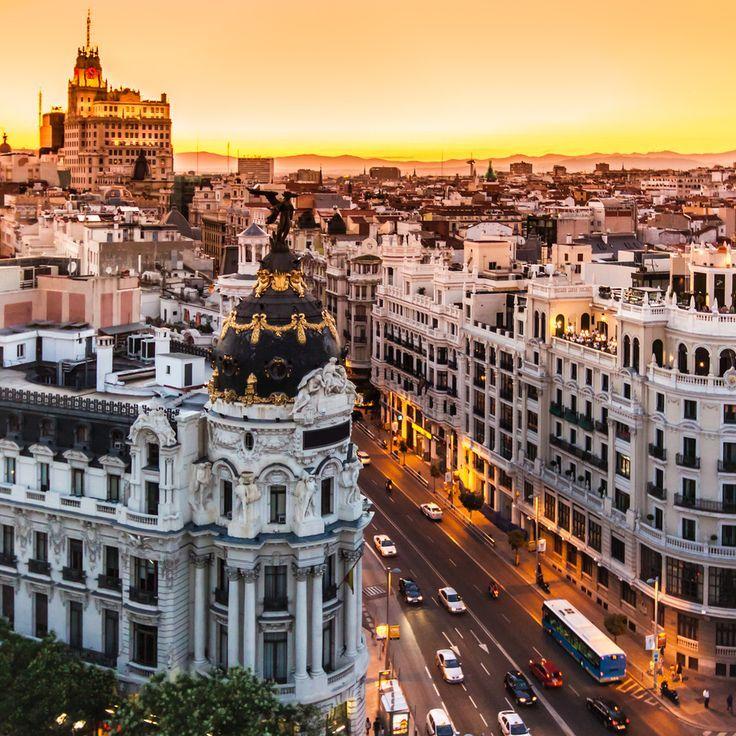 Madrid, Spain Beautiful Places Pinterest