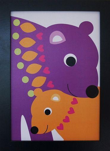 Print Bear Hug. Design Sara Vestberg