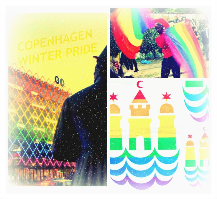 Winter Pride Copenhagen. First ever Winter Pride kicks off today.