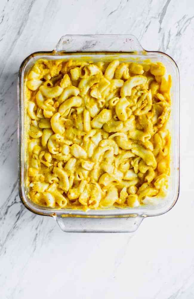 The Best Baked Vegan Mac And Cheese It S Also Nut Free And Soy Free Made With Daiya Cheddar Cheese Sl In 2020 Vegan Mac And Cheese Mac And Cheese Bake Mac And Cheese