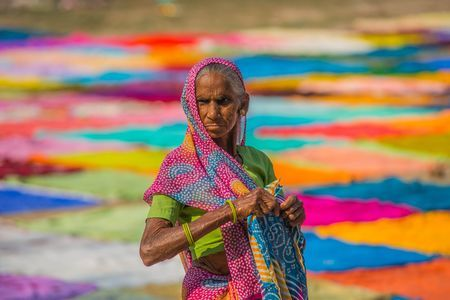 The Dhobi Lady Photo by THANWAN SINGH -- National Geographic Your Shot