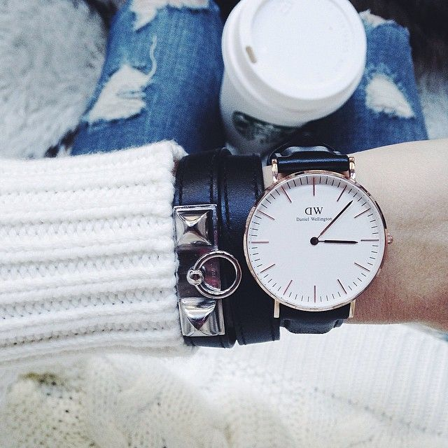 "daniel wellington watch // 15% off coupon code ""somewherelately"" until Nov 30!"