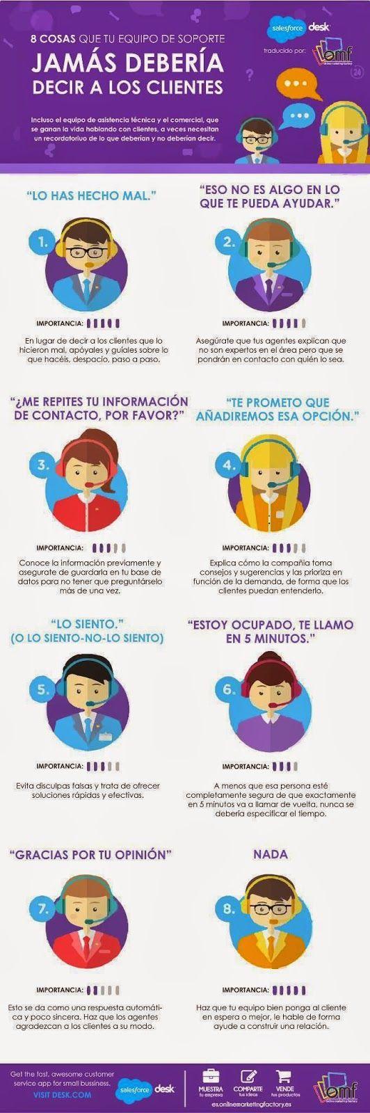 Miguel García González: Cosas que jamás debería decir a los clientes