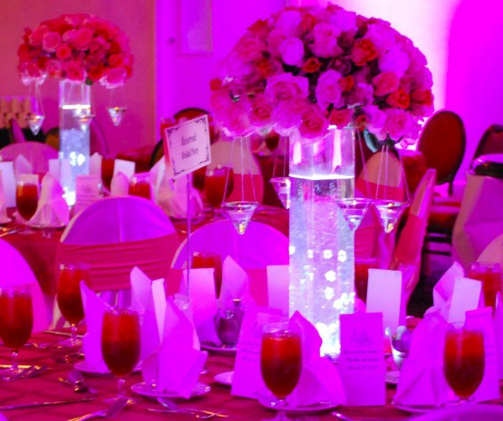 Lighting ideas for centerpieces copyright bisli