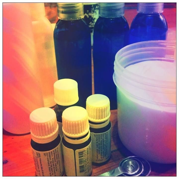 new items brewing in the rainbow butterflies aromatherapy lab , mist sprays and creams